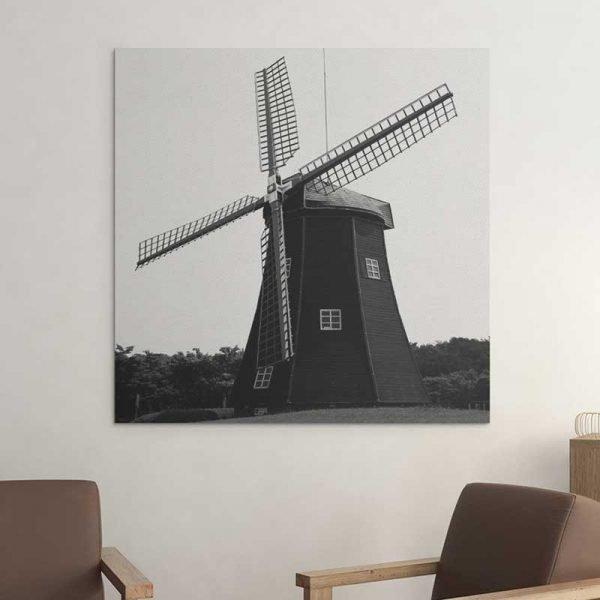 Tableau moulin à vent