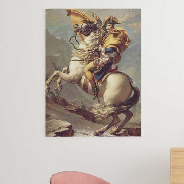 Tableau Napoléon Cheval