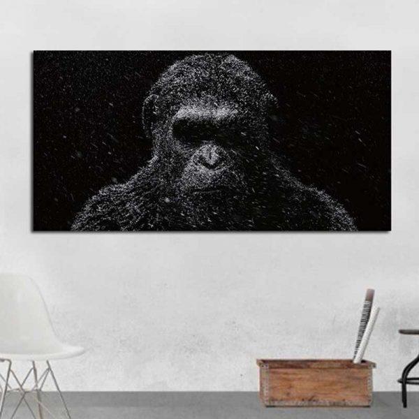 Tableau planète des singes