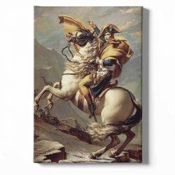 Tableau sur toile napoléon cheval