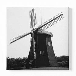 Tableau sur toile moulin à vent