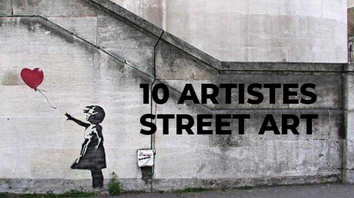10 artistes street art