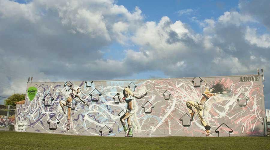 above miami street art
