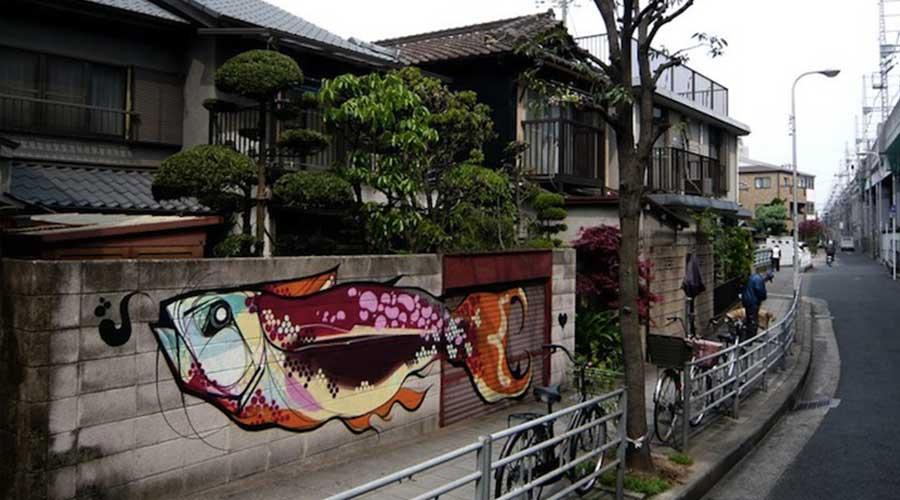 Carpe titi freak street art