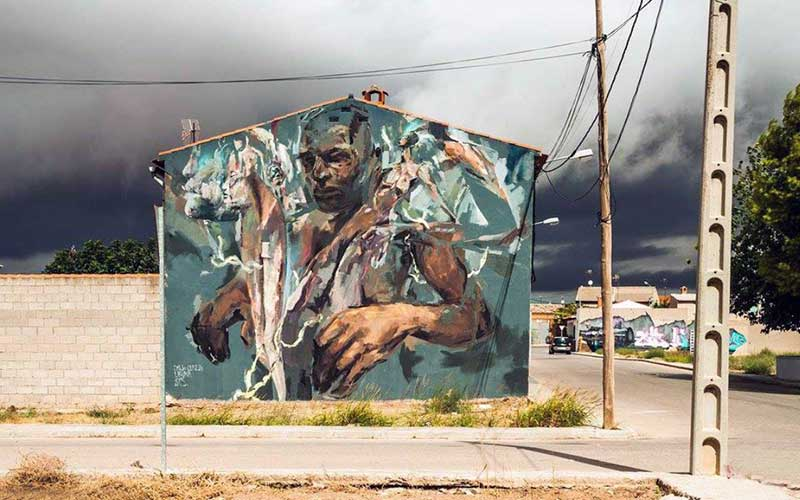 laguna mas mesas street art