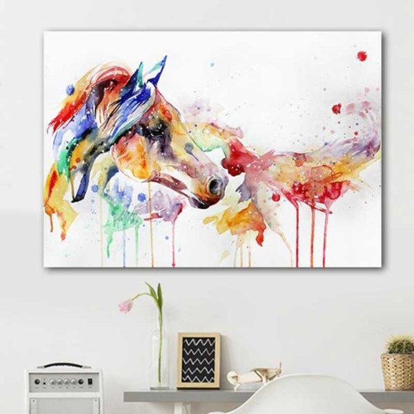 peinture cheval couleur