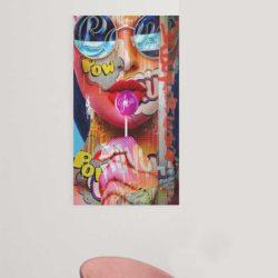 Tableau pop art vertical