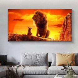 Tableau roi lion film