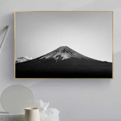 tableau scandinave noir et blanc