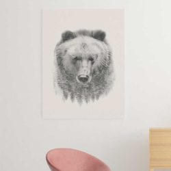 Tableau scandinave ours