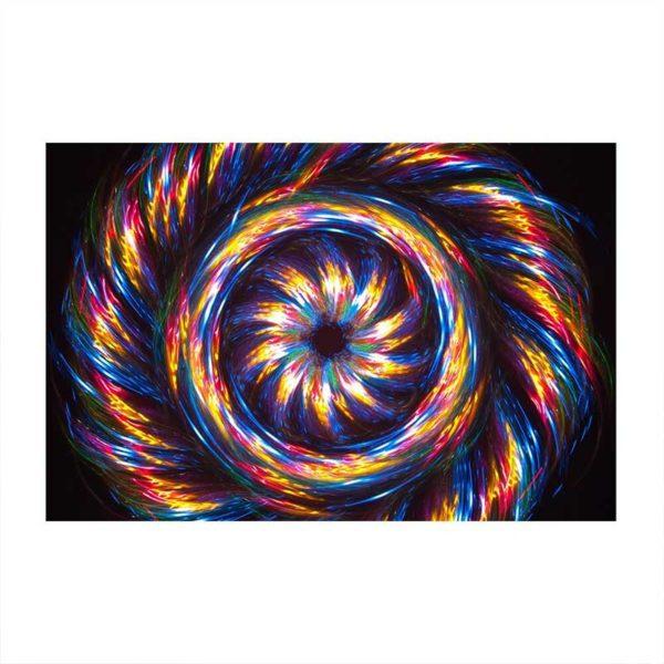 Tableau sur toile abstrait coloré