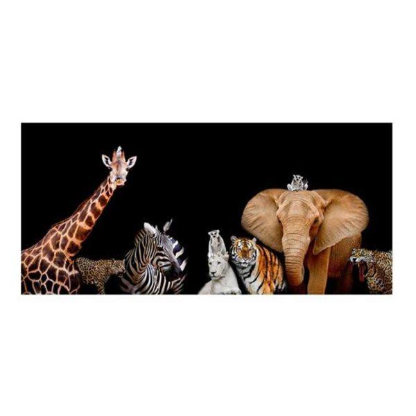 Tableau sur toile animaux d'Afrique